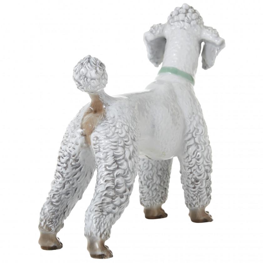 """Porcelain figure """"Poodle"""""""