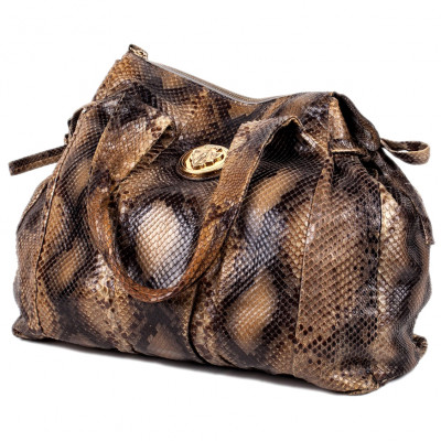 Gucci ladies bag from a python skin