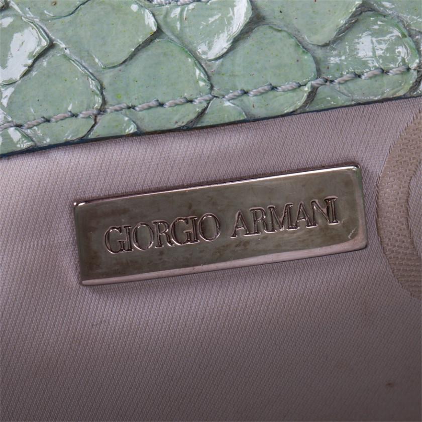 Giorgio Armani ladies bag from a crocodile skin
