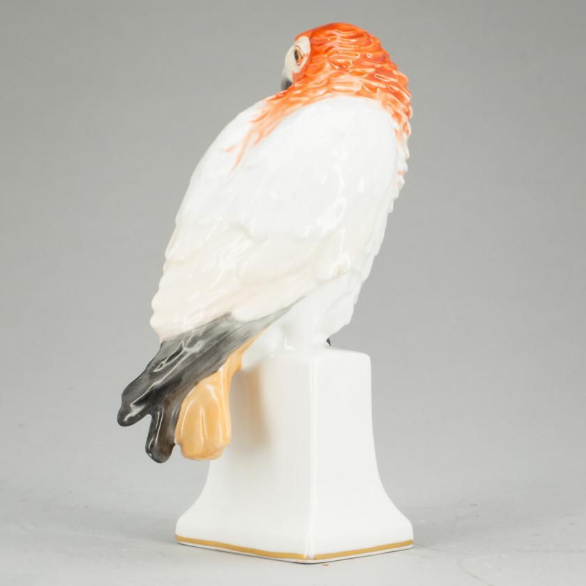 """Porcelain figure """"Parrot"""""""