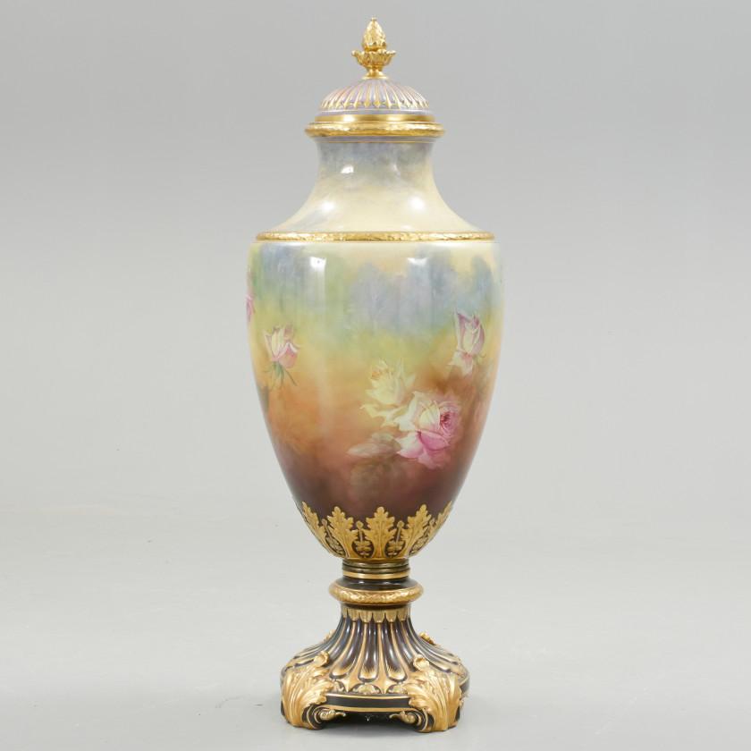 Большая интерьерная ваза