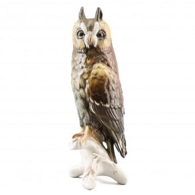 "Porcelain figure ""Eagle owl"""
