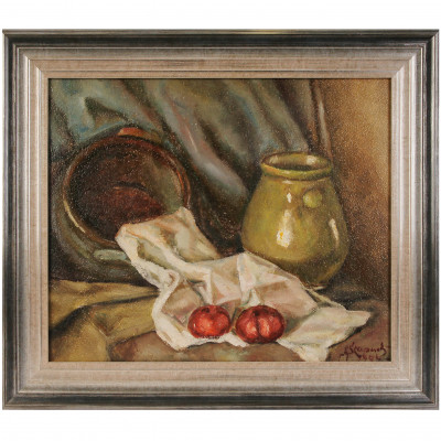 "Painting ""Still life with apples"""