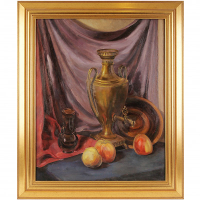 "Painting ""Still life with samovar"""
