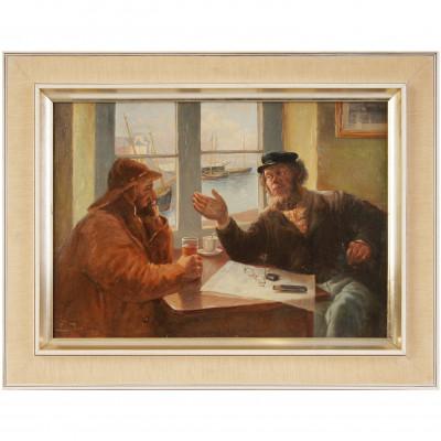 """Painting """"Fishermens"""""""