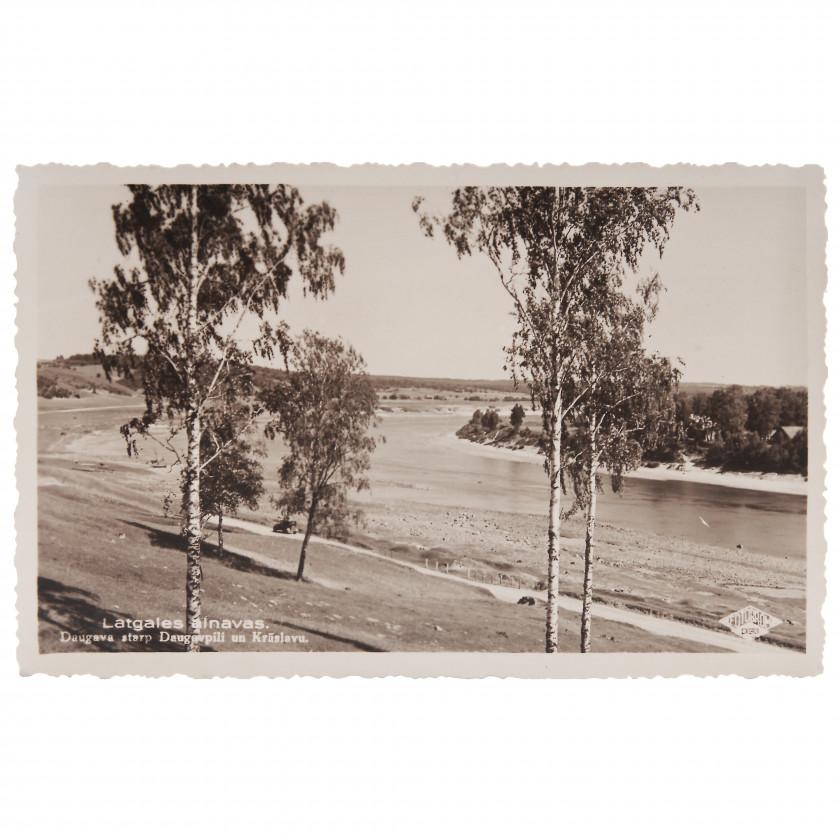 "Photography ""Latgale landscapes. Daugava between Daugavpils and Kraslava."""