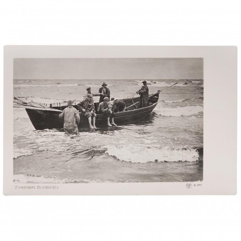 """Фотография """"Рыбаки в Болдерае"""""""