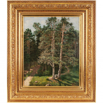 "Painting ""Forest Landscape"""