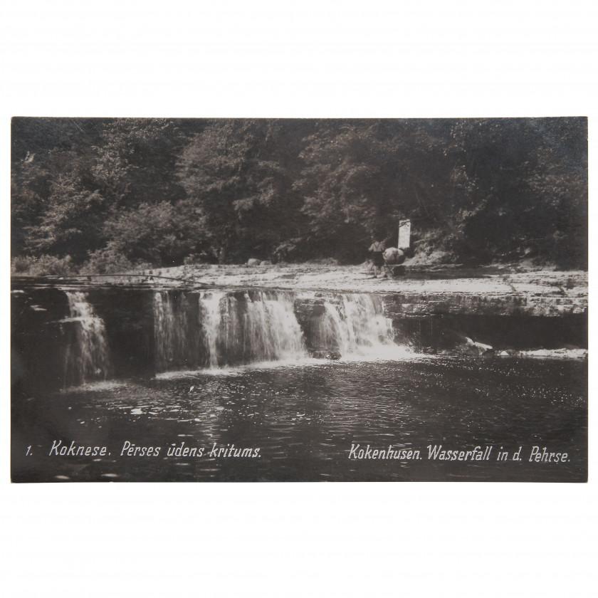 """Фотография """"Кокнесе. Водопад на реке Персе"""""""