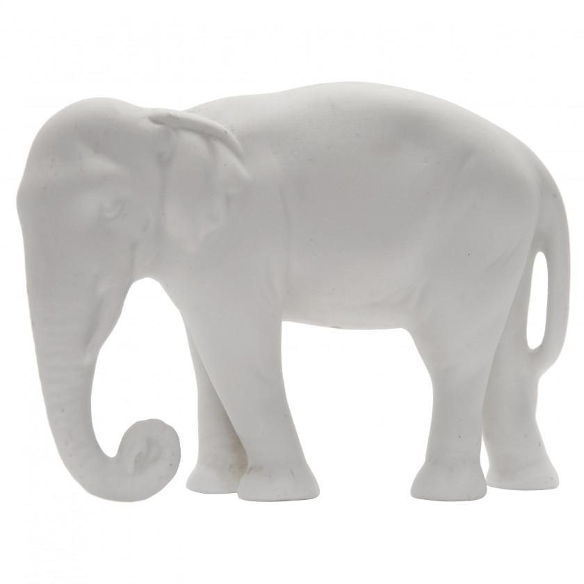 Set of 6 biscuit elephants