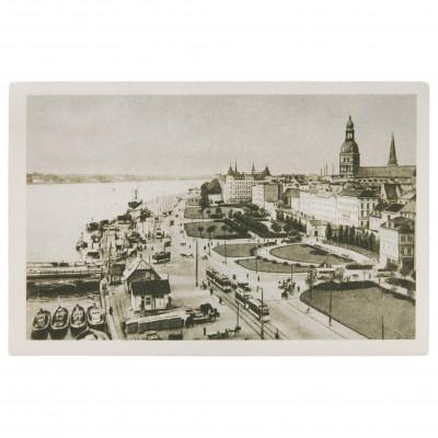 "Postcard ""Riga. Daugava Embankment"""
