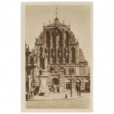 "Postcard ""Riga. House of Blackheads"" (Error)"