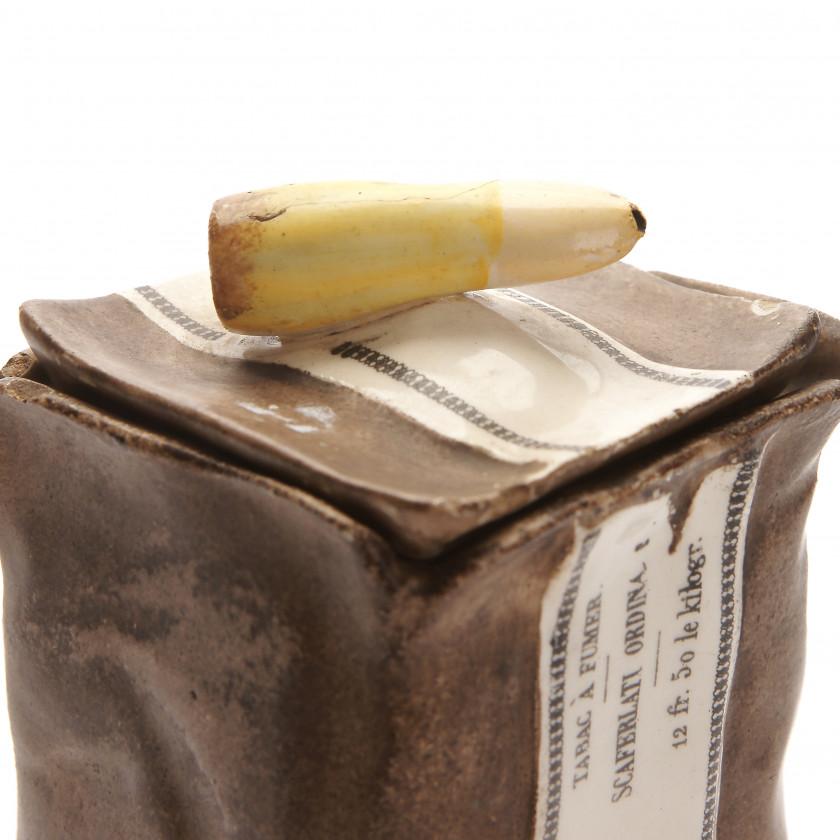 Keramikas trauks tabakai