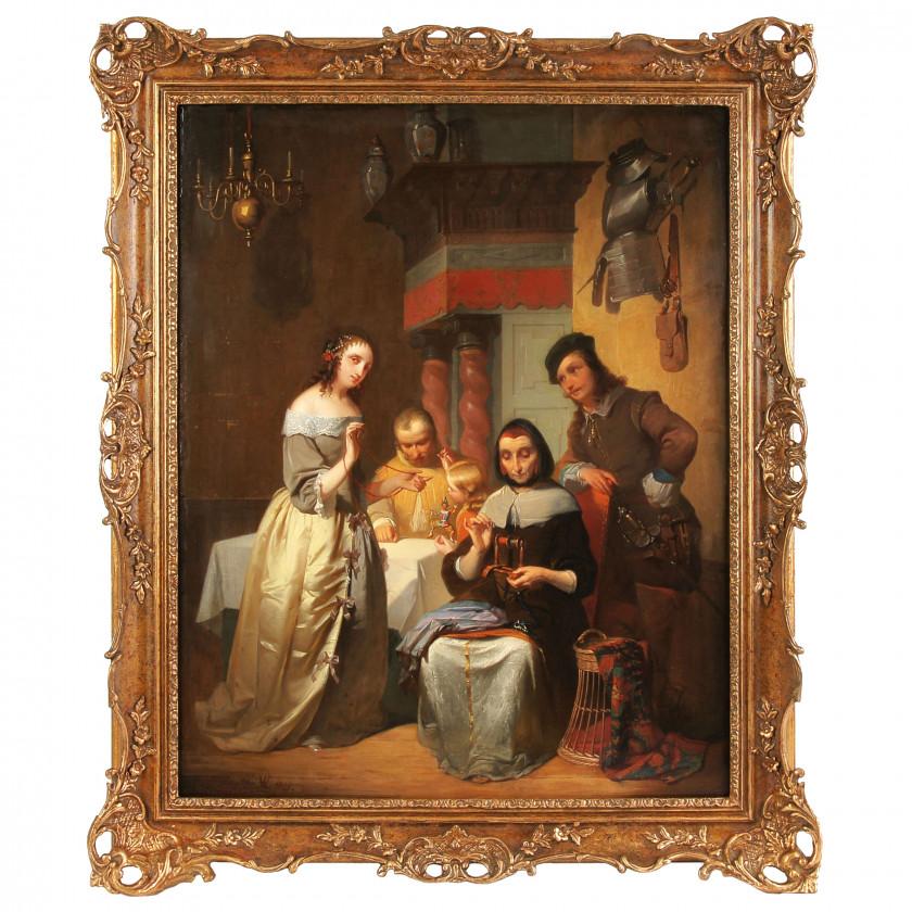 "Painting ""Happy family"""