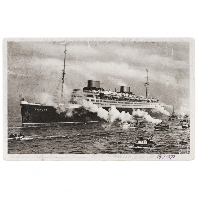 "Atklātne ""Kuģis - Europa"""