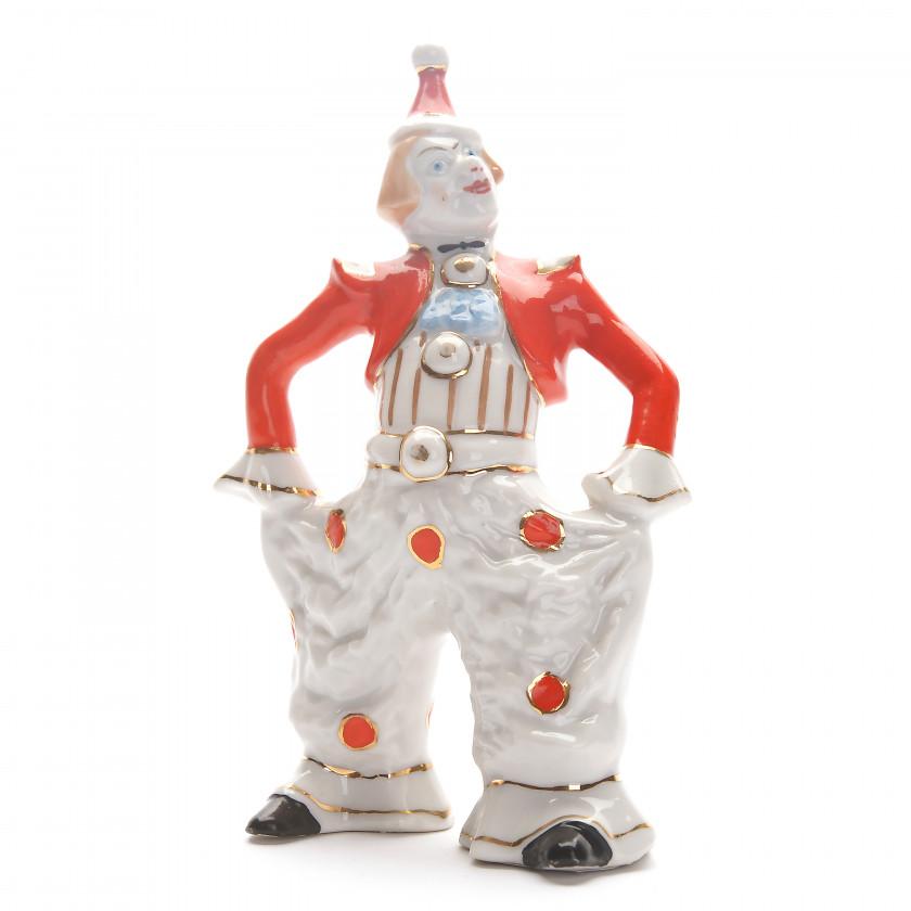 """Porcelain figure """"Clown"""""""
