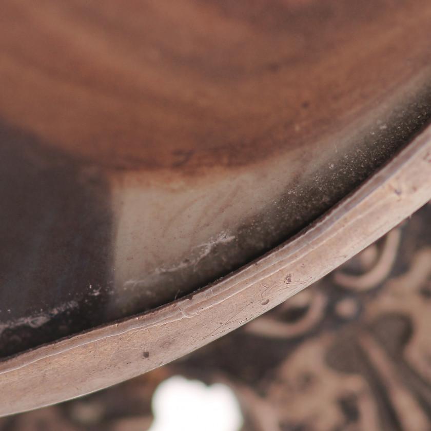"""Miniatūra uz porcelāna pēc Rafaēla gleznas """"Siksta Madonna"""" oriģināla"""