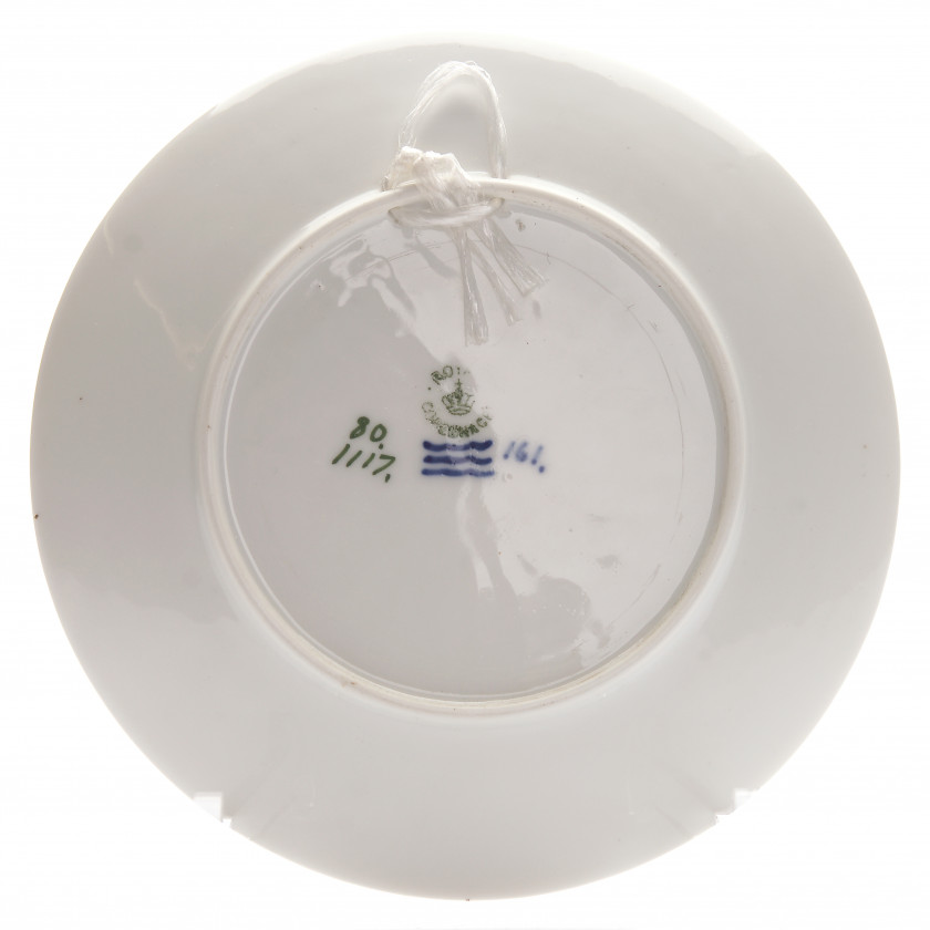 Porcelain decorative plate
