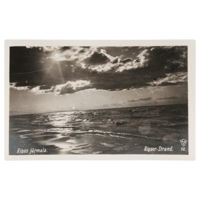 """Photography """"Riga seashore"""""""