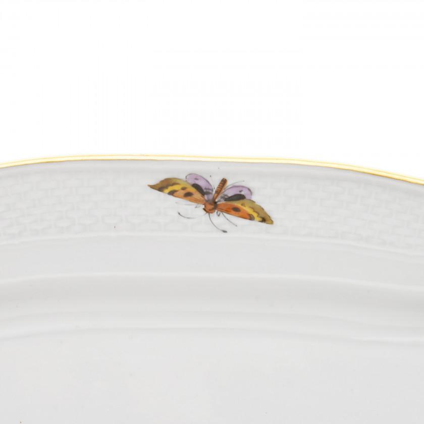 Large porcelain serving dish