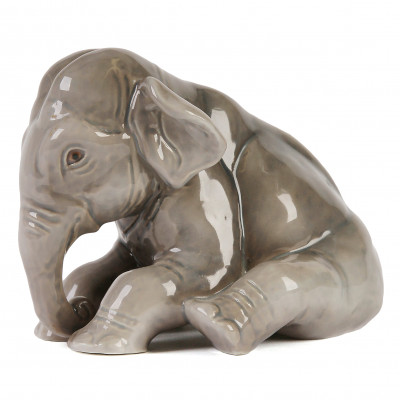 "Porcelain figure ""Elephant"""