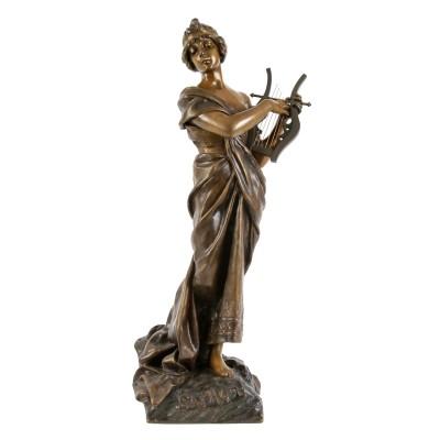 "Bronze figure of ""Sapho"""
