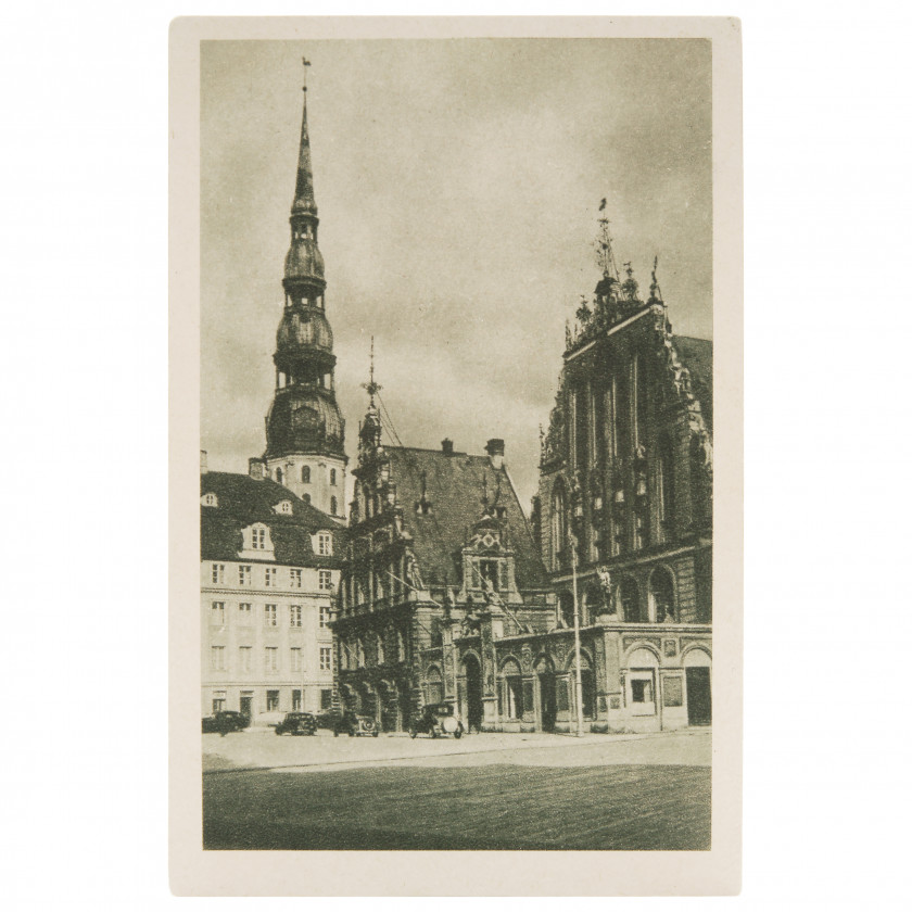"""Postcard """"Old Town"""""""