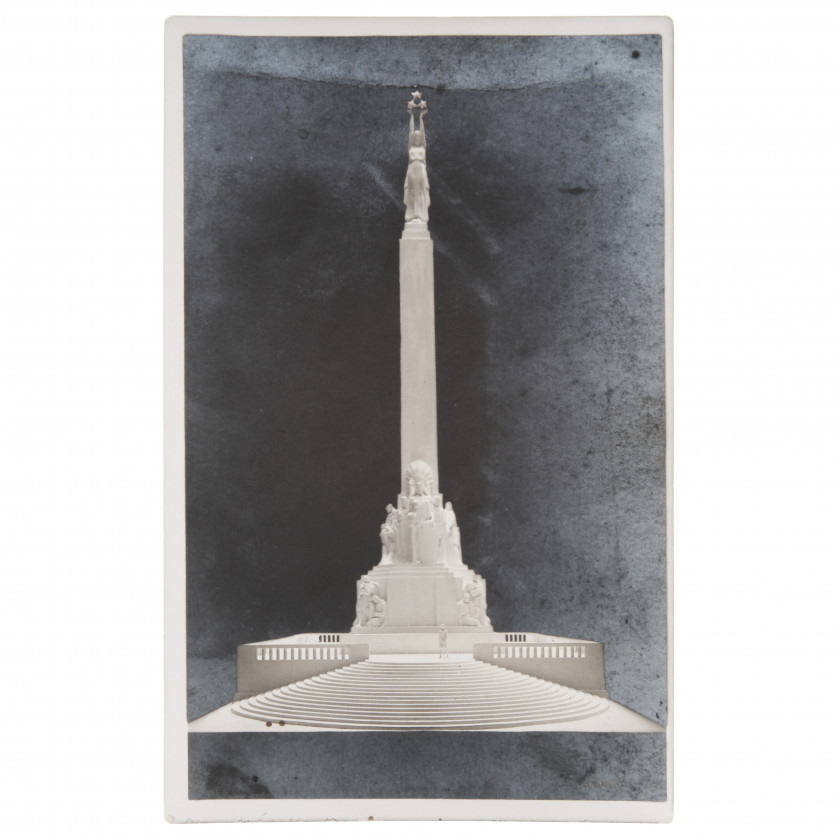 """Photography """"Model of the Freedom Monument"""""""