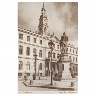 "Postcard ""Riga. Town Hall Square"""