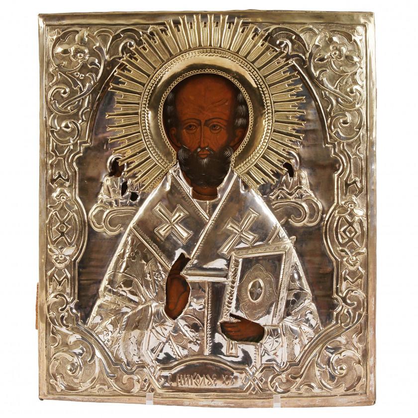 """Svētbilde """"Svētais Nikolajs Brīnumdarītājs"""""""