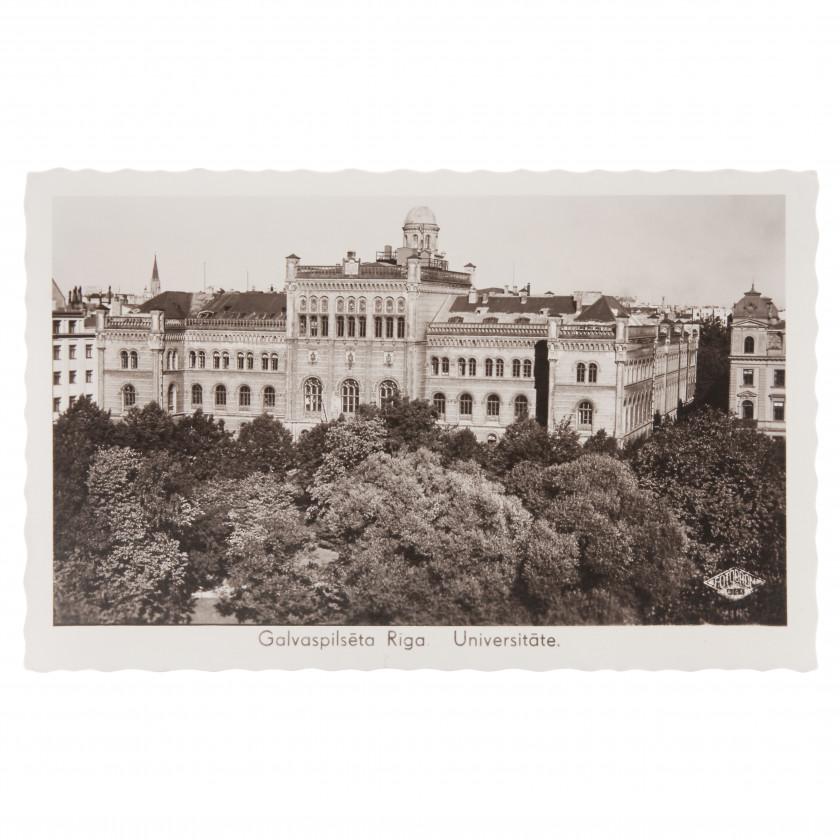 """Photography """"Capital city Riga. University."""""""