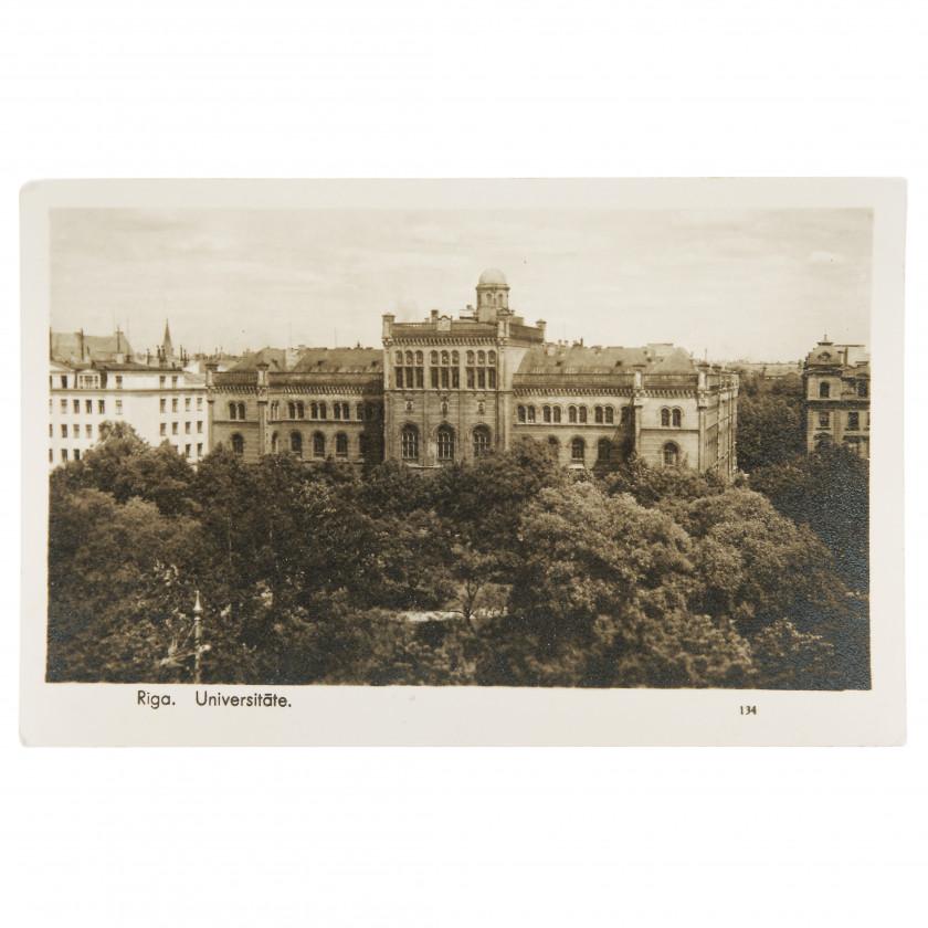 "Photography ""Riga. University."""