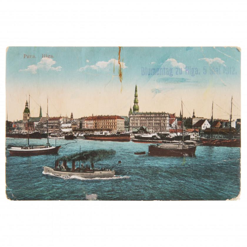 """Postcard """"Riga"""""""