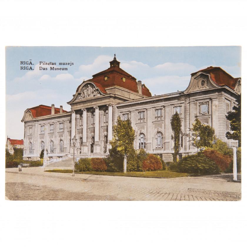 "Postcard ""Riga. City Museum"""