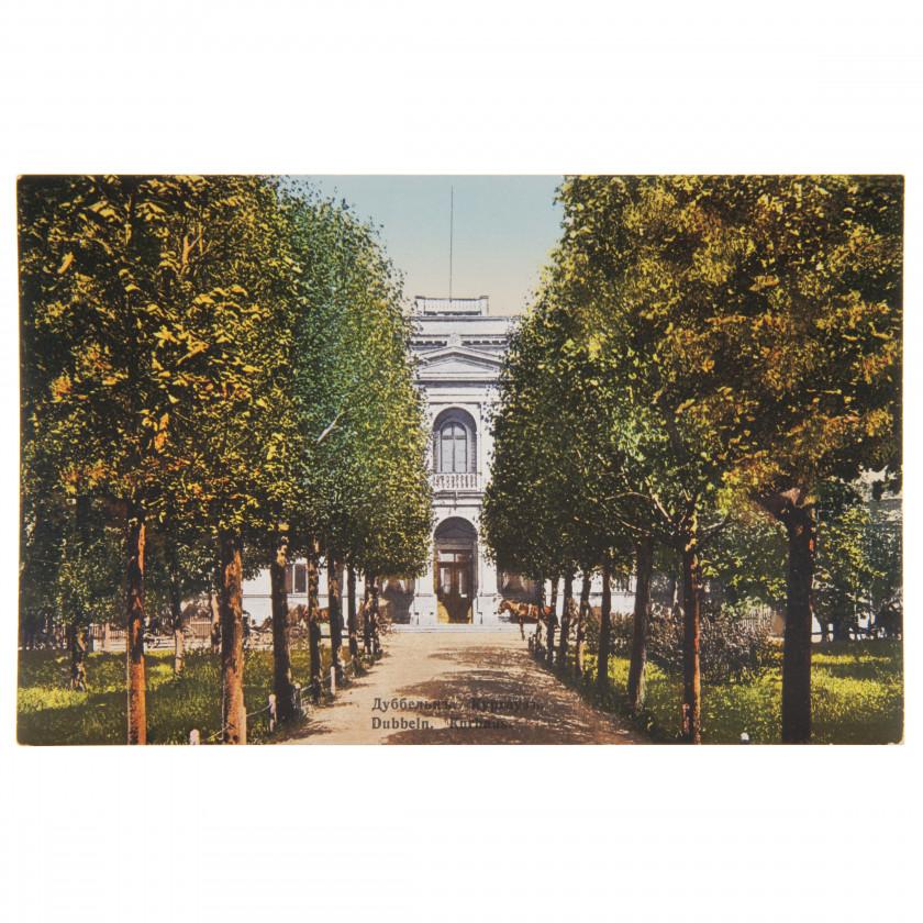"Postcard ""Dubulti. Kurhaus."""