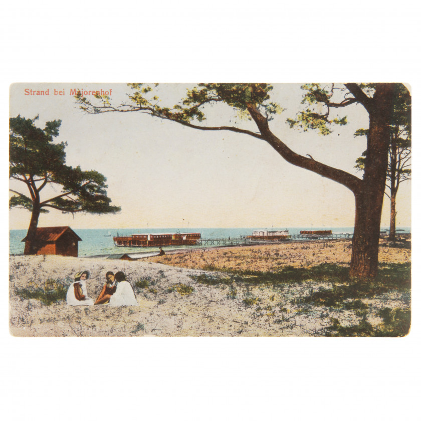 "Postcard ""Beach in Majori"""