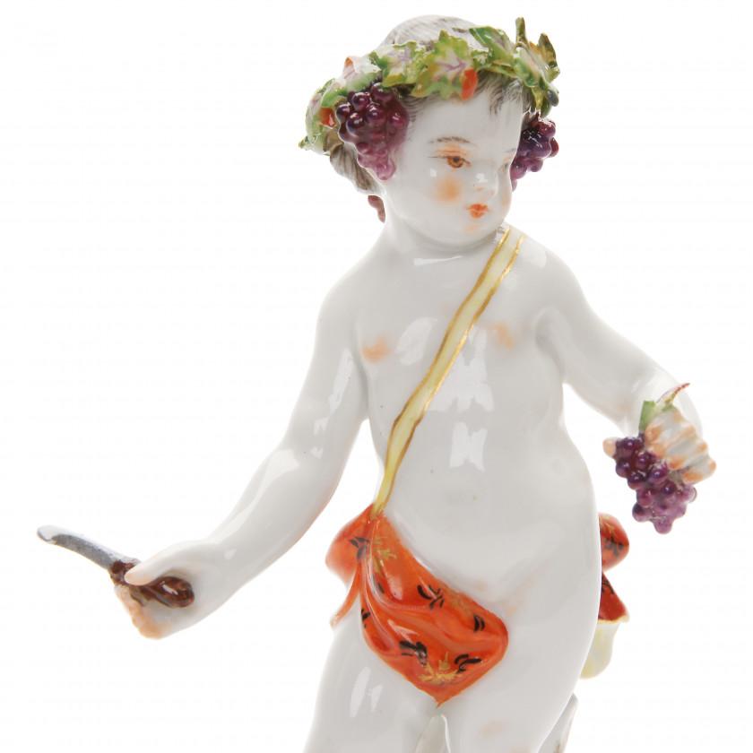 """Porcelain figure """"Allegory - Autumn"""""""