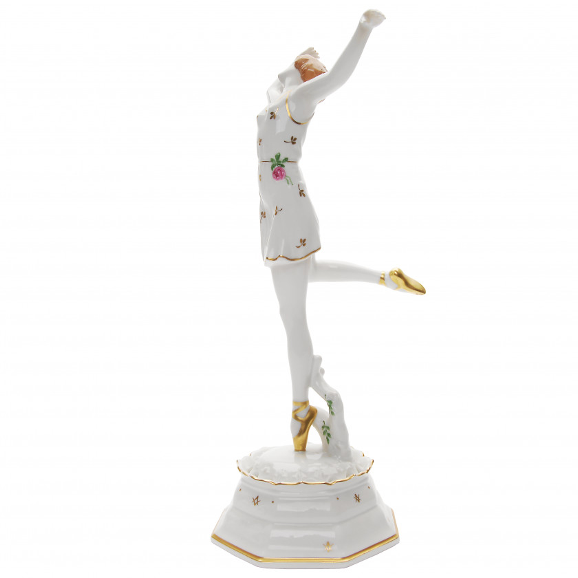 "Porcelain figure ""Ballerina / Spring"""