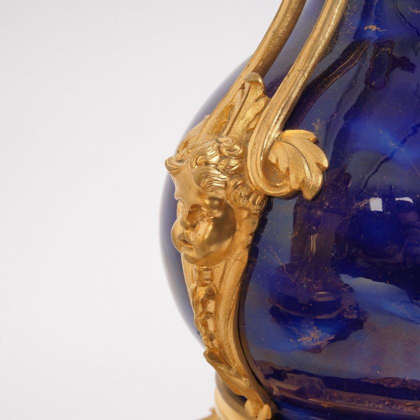"""Fireplace set """"Lapis lazuli"""""""