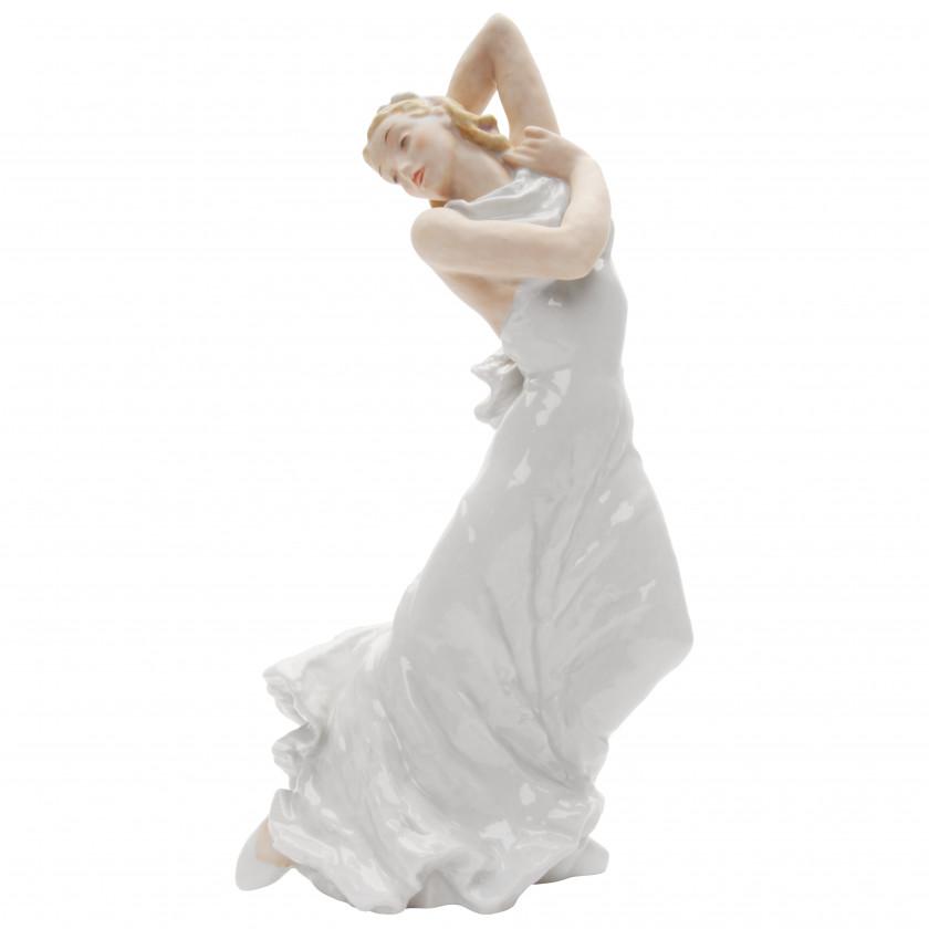 "Porcelain figure ""Ballerina Lisl Spalinger"""