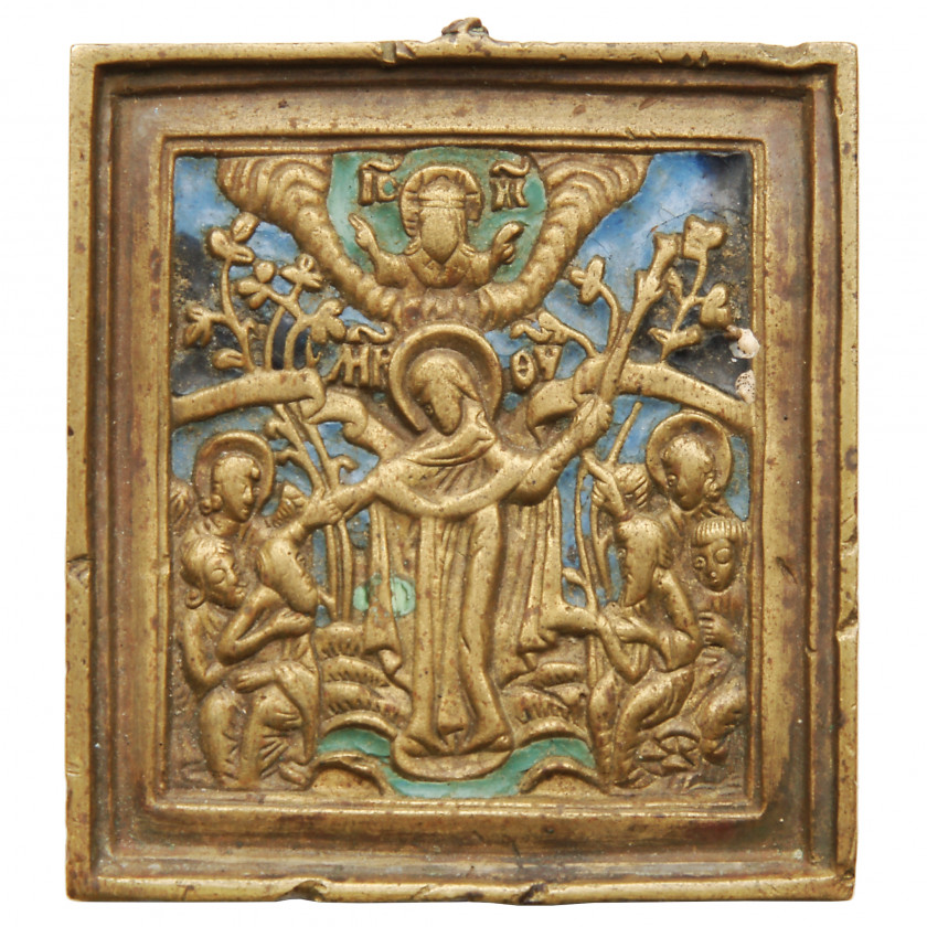"""Icon """"Mother of God. Joy of All Who Sorrow"""""""