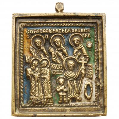 """Икона """"Богородица. Всех скорбящих радость"""""""
