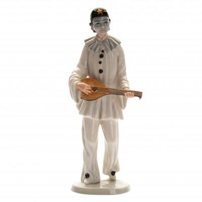 """Porcelain figure """"Pierrot"""""""