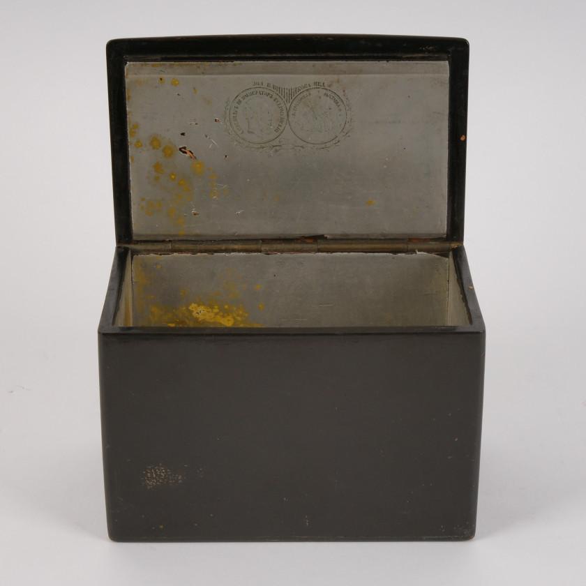 "Lacquer box ""Malorossy"""