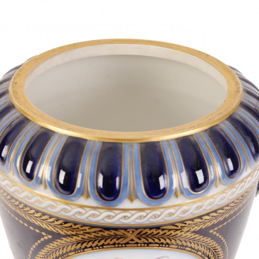 Large porcelain vase