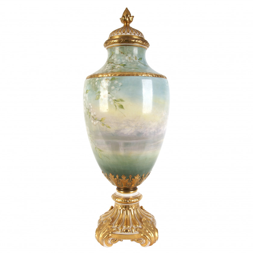 "Large interior vase ""Cherry Blossom"""
