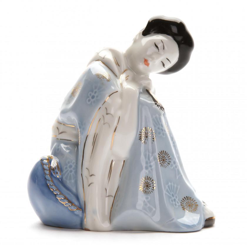 """Porcelāna figūra """"Čio-Čio-San"""""""