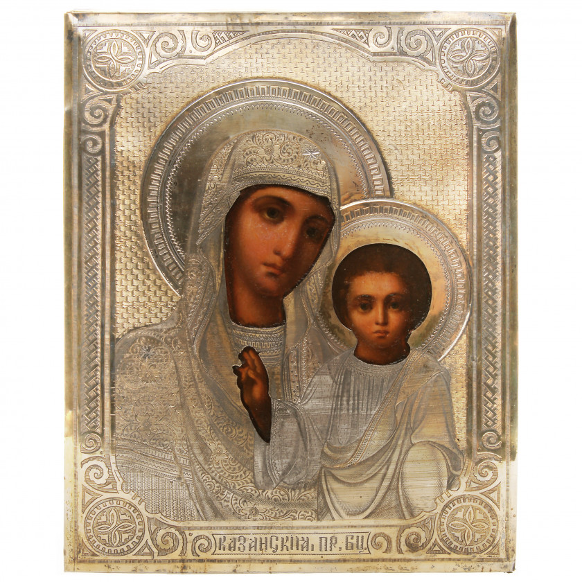 "Icon ""The Virgin of Kazan"""