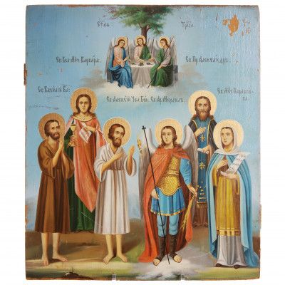 "Icon ""Selected Saints"""