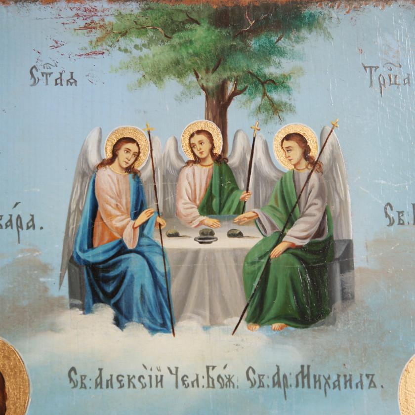 """Икона """"Избранные святые"""""""